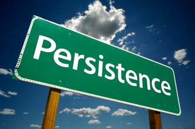 persistence against anxiety