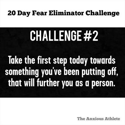 Fear eliminator challenge