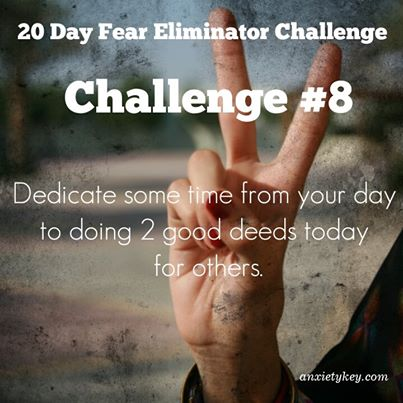 fear and anxiety challenge