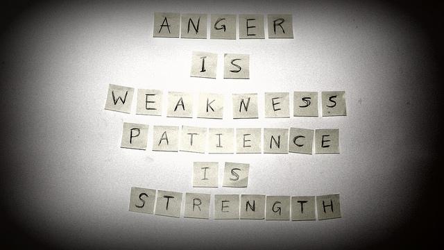Patience against against