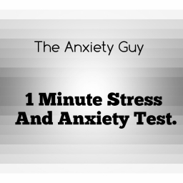 1 minute anxiety test