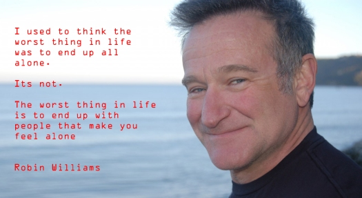 Robin williams and severe depression blog
