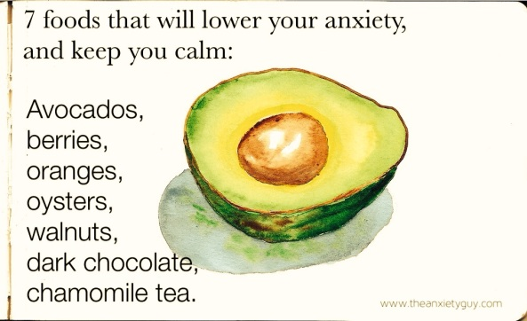 foods against anxiety